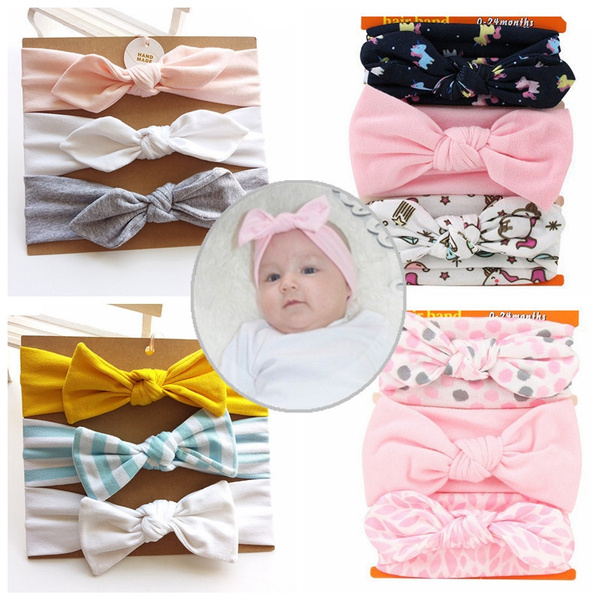 bowknot, Flowers, baby clothing, Elastic