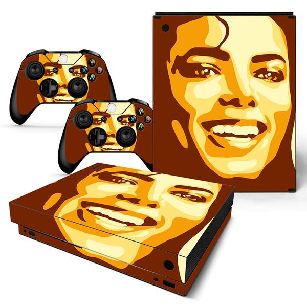 wish xbox one x sticker unique design michael jackson vinyl decal