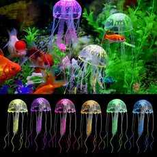 aquariumdecor, fishtankjellyfish, artificialjellyfish, aquariumjellyfish