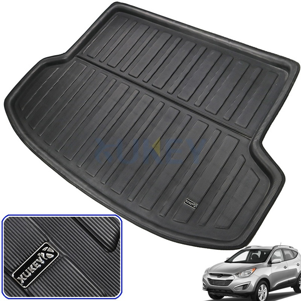 Car Rear Trunk Boot Liner Cargo Mat Floor Protector For Hyundai IX35 2010-2015