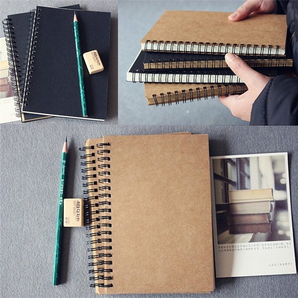 blankbook, sketchbook, writingpad, coilnotebook