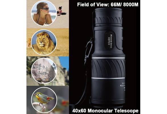 Wish high power hd monocular telescope shimmer lll outdoor