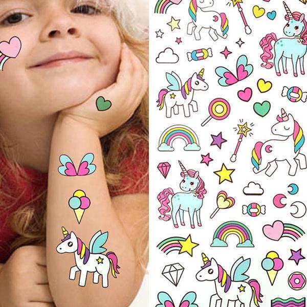 pink, tattoo, horse, tattoobodyart