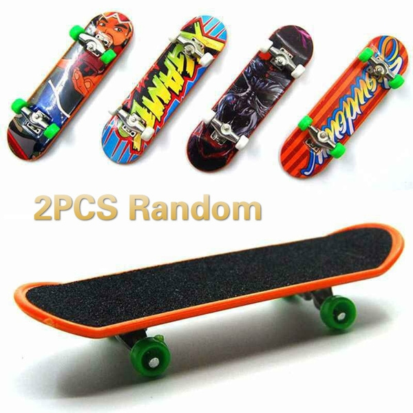 Mini Skateboard Toys Finger Board Tech Deck Boy Kids Children Gifts Random Color