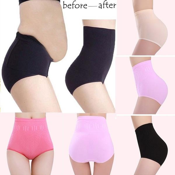 3a1066374dd New Women High Waist Body Shaper Panties Seamless Tummy Belly ...