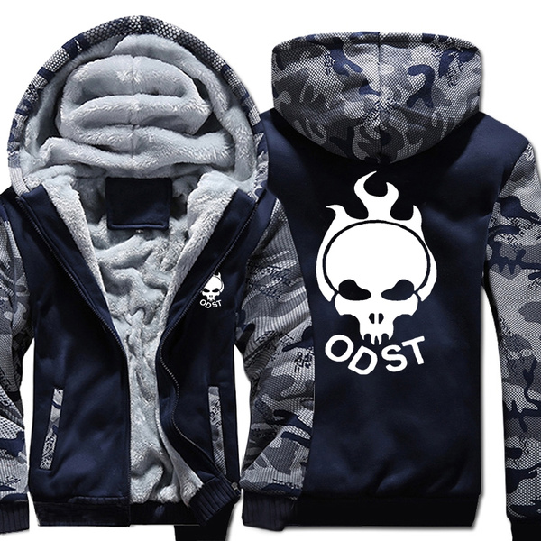 High Quality Halo 3 Odst Jacket Top Coat Sweatshirts Hoodies Costume  Cosplay Men for Women Clothes Fashion