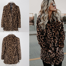 fur coat, womens coats, Jacket, leopard top