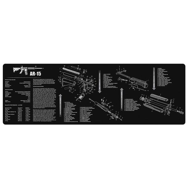 """Full Parts List AR-15 M16 Gun Cleaning Bench Mat View Schematic Non-Slip on m16a1 schematic, stun gun schematic, b3 schematic, sks schematic, mp5k schematic, g3 schematic, m21 schematic, uzi schematic, m79 schematic, fal schematic, enfield schematic, shotgun schematic, m 16"""" rifle schematic, m14 schematic, m249 schematic, ak-47 schematic, m4 schematic, pistol schematic, m60 schematic,"""