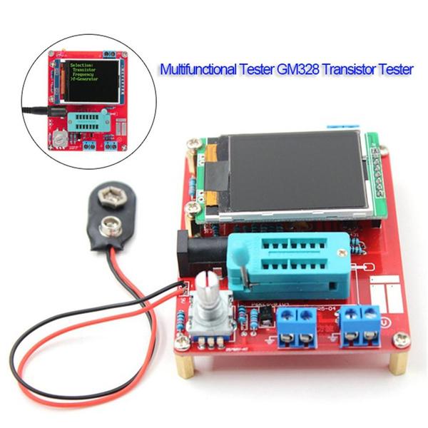 multifunctional tester gm328 transistor tester resistance inductancemultifunctional tester gm328 transistor tester resistance inductance capacitance meter esr instrument diy kit wish