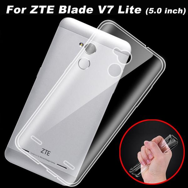 For ZTE Blade V7 Lite / V7 Case Cover 0 6mm Transparent TPU Soft Cover  Phone Case For ZTE Blade V8 / V7 Lite Back Cover Case