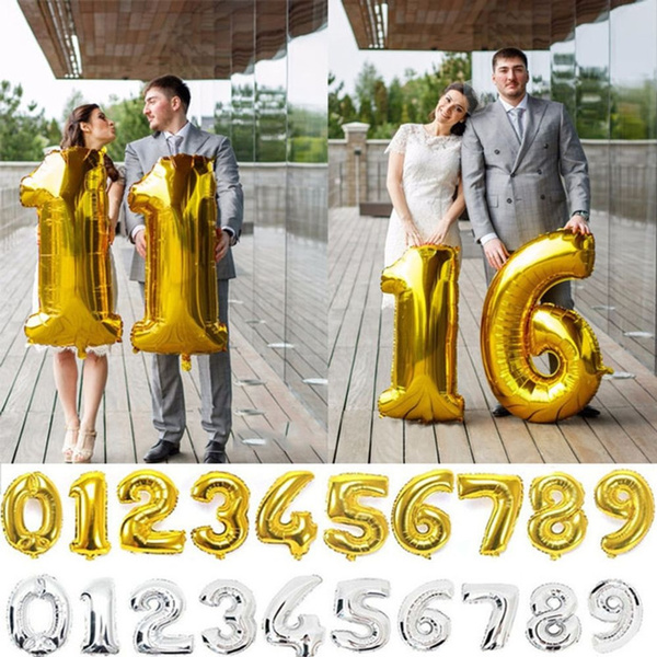 40inchballoon, birthdaypartydecor, foilballoon, digitballoon