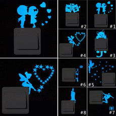 switchluminoussticker, Home Decor, luminoussticker, Stickers