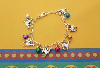 monogram, Jewelry, Colorful, adjustablebracelet