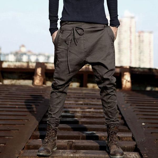 392b203f Mens Fashion Joggers Casual Harem Sweatpants Sport Pants Trousers Men  Tracksuit Bottoms for Track Training Jogging Plus Size