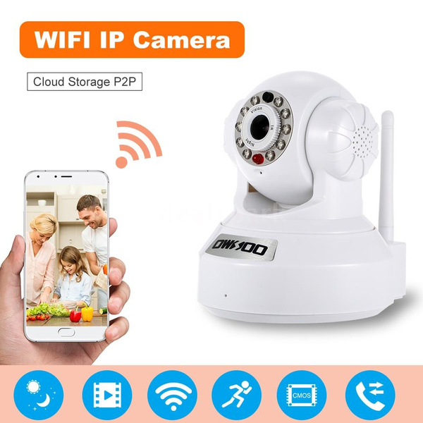Romacci OWSOO IP Cloud Camera CCTV Surveillance Security Network PTZ Camera  Support Cloud Storage P2P for Android/iOS APP Browser View IR-CUT Filter