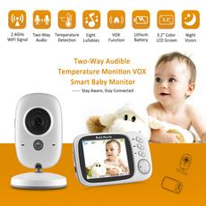 Monitors, nightversion, videobabymonitor, photograph