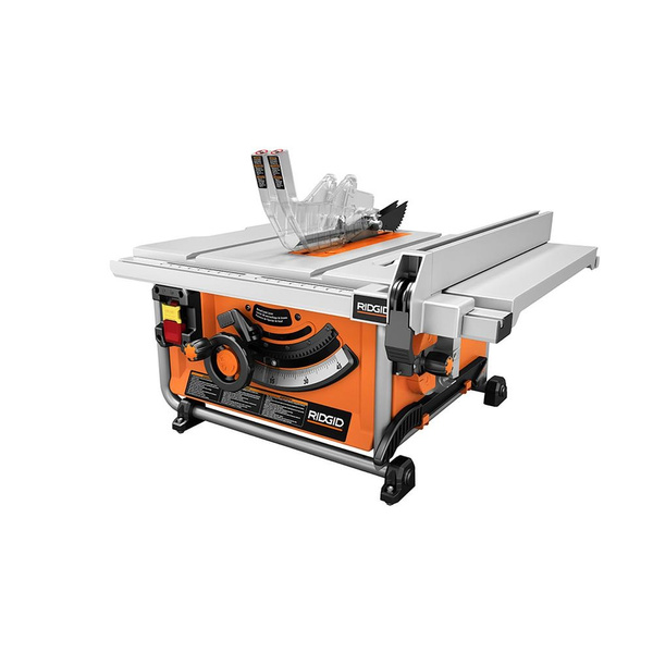 Wish | Refurbished Ridgid R4517 15 Amp 10 In. Compact Table Saw With  Folding X Stand