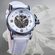 orologiodasera, bianco, orologidiclasse, ladies watch
