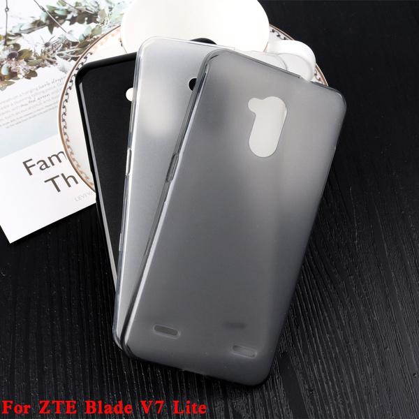 promo code 24a6c 11cba TPU Phone Case for ZTE Blade V7 Lite Case Cover Matte TPU Soft Back Cover  Phone Case for ZTE Blade V7 Lite 5.0 Inch