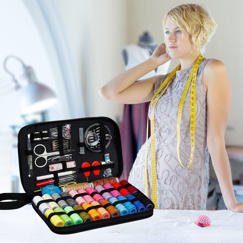 Фритюрница Практичный швейный набор для путешествия с сумкой 99 принадлежностей (Фото 5)