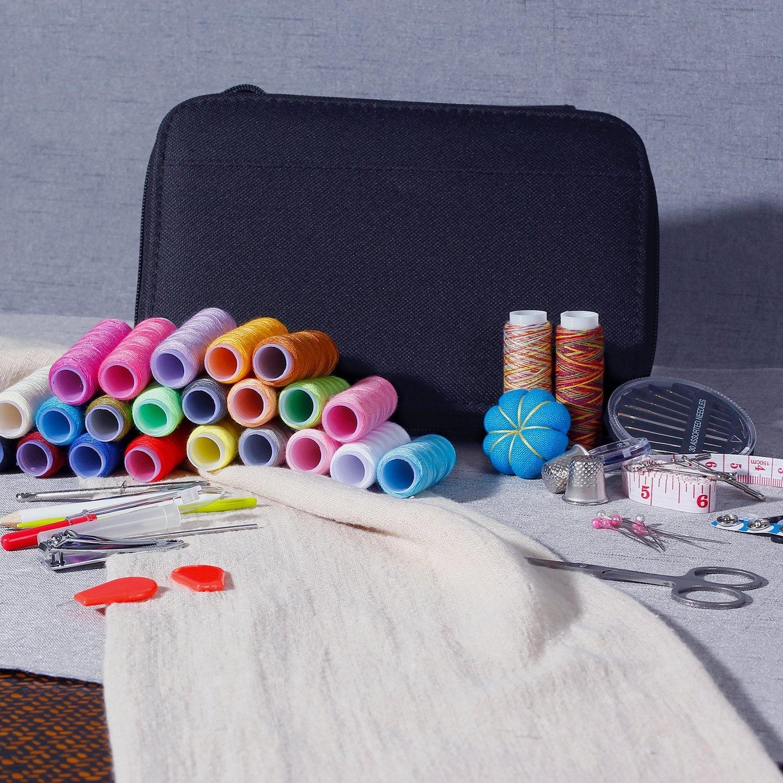 Фритюрница Практичный швейный набор для путешествия с сумкой 99 принадлежностей (Фото 6)