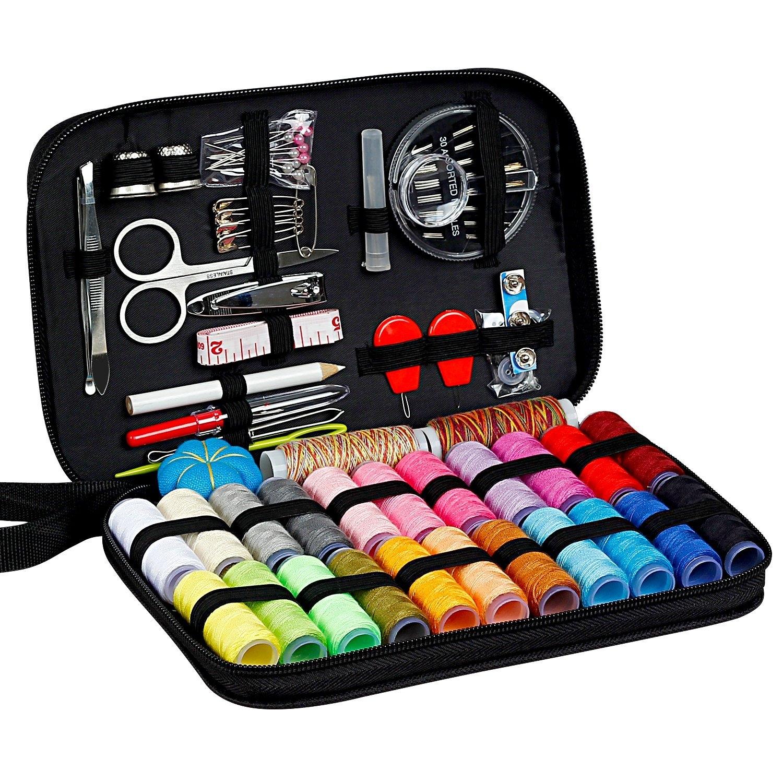 Практичный швейный набор для путешествия с сумкой 99 принадлежностей