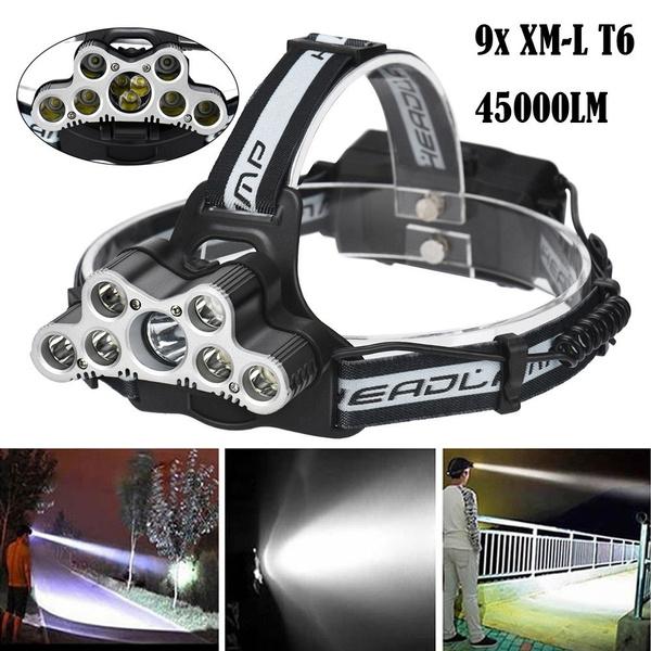 Led 4500040000 Frontale T6 Lampe Lm Xm Phare Tête Projecteur 9x L De Voyage À 8wPNnO0kX