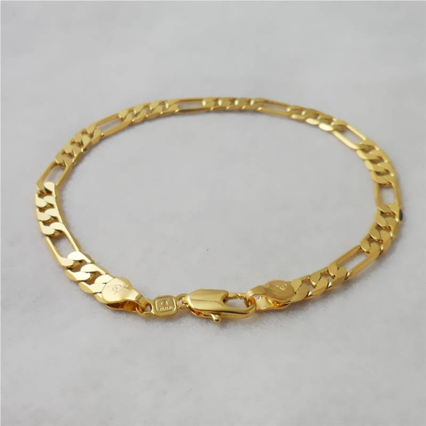 yellowgoldbracelet, golden, solidbracelet, Jewelry