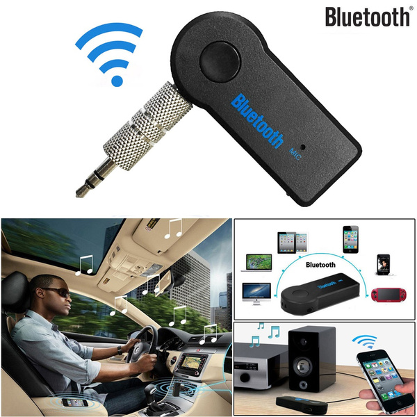 3.5mm Kabellos USB Mini Bluetooth Stereo Audio Lead Music Car Adapter Receiver