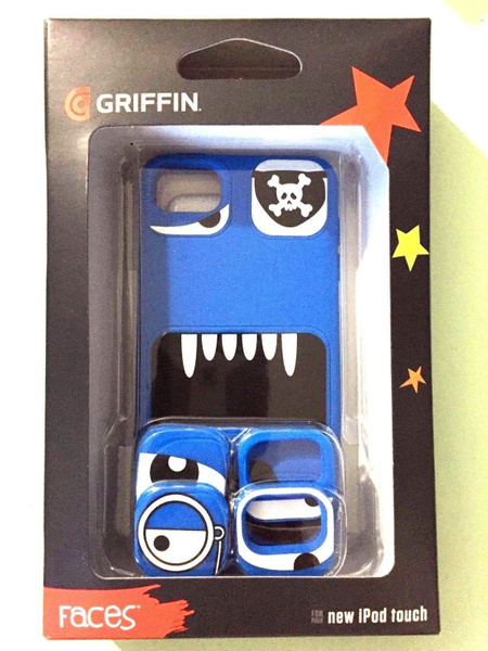 6th Generation New Griffin interchangeable Faces Gel Case for iPod touch 5th