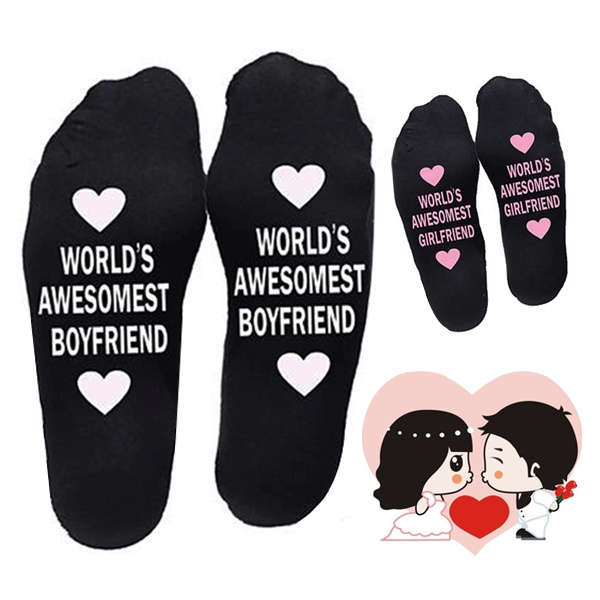 Valentines Gifts, Gifts, boyfriendampgirlfriend, casualsock