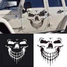 cardecor, skullsticker, Car Sticker, Door