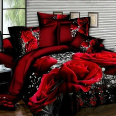 King, Rose, Bedding, Cover