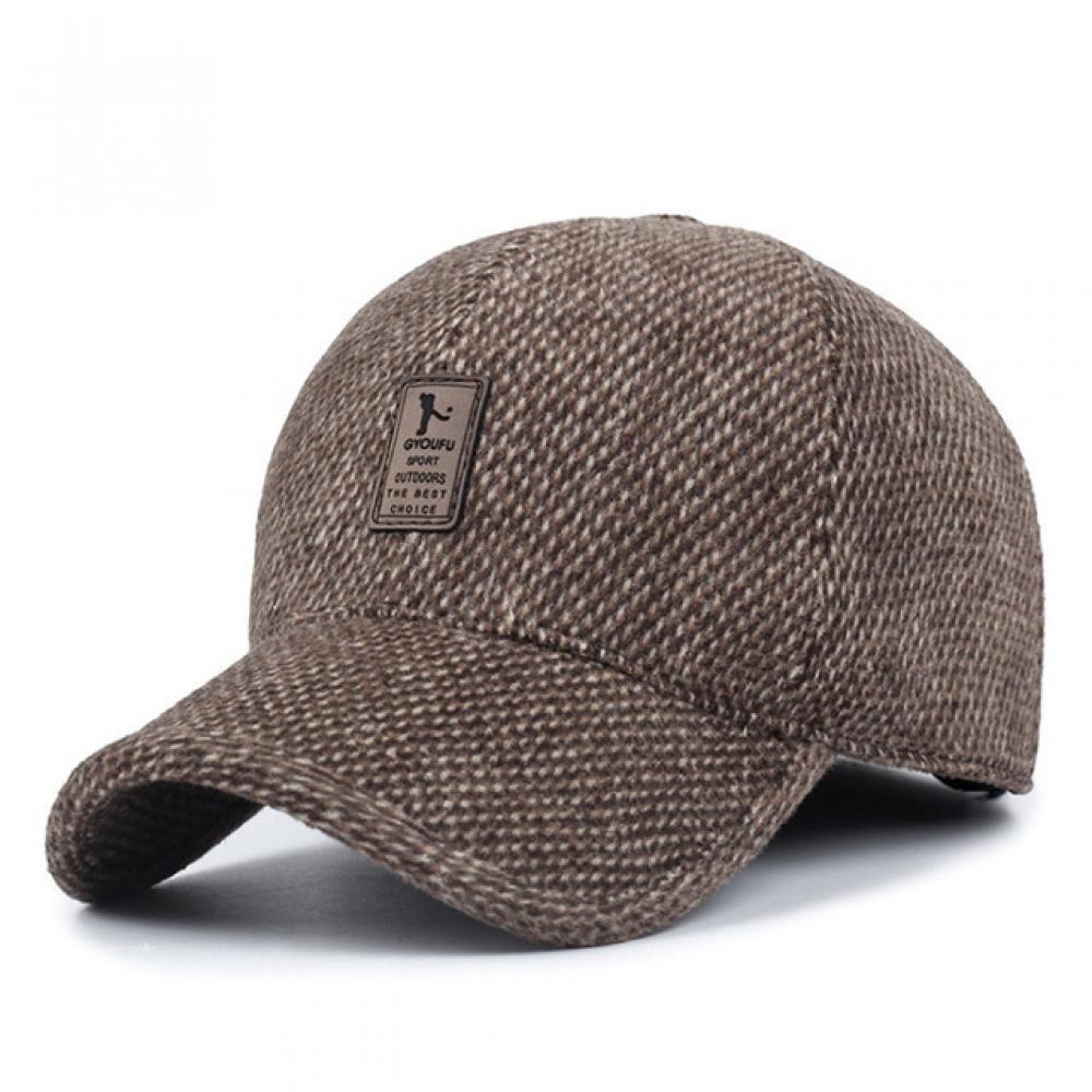 Acquista Berretto Da Baseball Invernale Da Uomo Con Cappelli Caldi ... 7e52ad5781ee