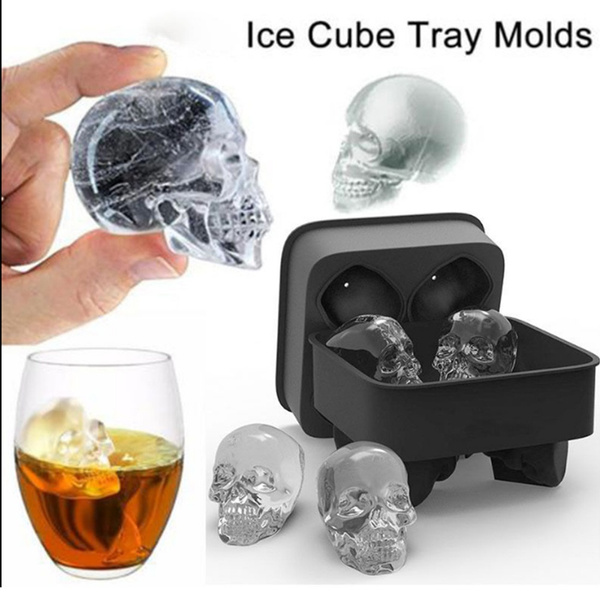 whiskyice, Bar, skull, Silicone