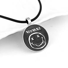 nirvana, Pendant, Charm, Jewelry