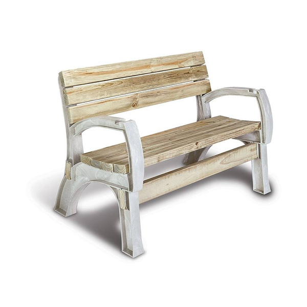 Excellent Popular Outdoor Backyard Bench Chair Furniture Back Seat Lawn Slat Wooden Garden Onthecornerstone Fun Painted Chair Ideas Images Onthecornerstoneorg