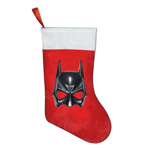 wish sf mascara de batman de cotillon christmas stocking sock gift candy hanging bag santa claus snowman home decorationvisit shop