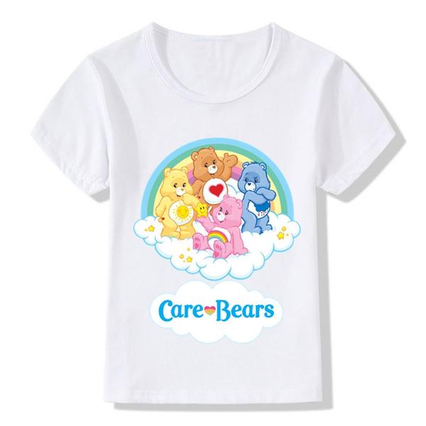 526291b9ba Care Bears Cartoon Design Funny Children's T-Shirts Kids Clothes ...