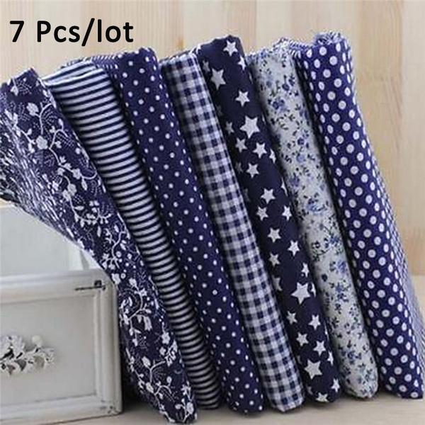Blues, handmadefabric, Cotton fabric, Fabric