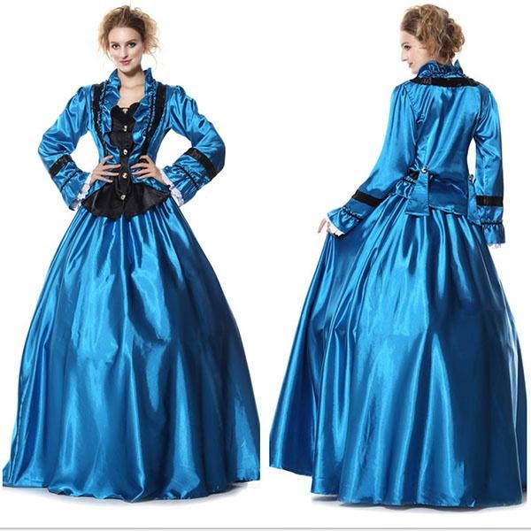 Wish | European Vintage Victorian Party Dress Princess Ball Gown ...