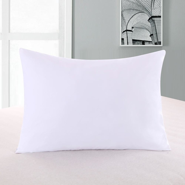 Abripedic Pillow Protectors Zippered Hypoallergenic Down Proof Covers 600 Thread Count 100 Cotton Set Of 2 Protector