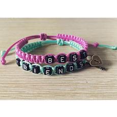 knittedbracelet, handmadestringbracelet, Jewelry, Gifts