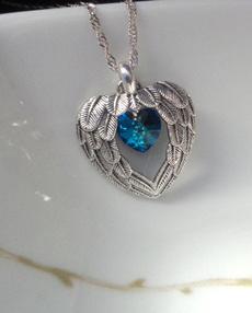 personalizedmothersdaygift, Heart, Personalized necklace, Jewelry