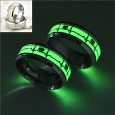 Steel, Stainless, coplering, wedding ring