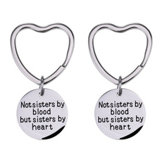 friendgift, Heart, Key Chain, Jewelry