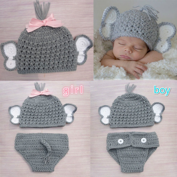 Large Crochet Elephant Ears (Amigurumi) | 600x600