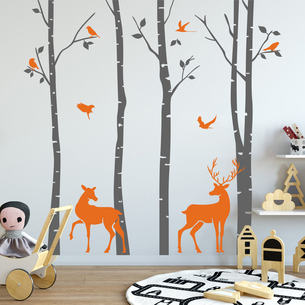 Decor, Wall Art, forestwallsticker, Deer