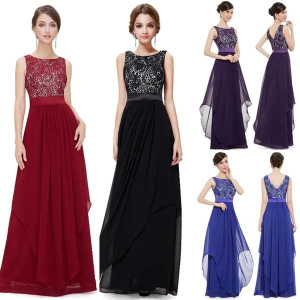 66b62a60a4 Vestido de Festa Longo Real Photo Lace Appliques Long Evening ...