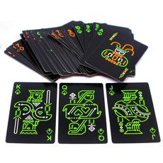 Poker, Glow, Novelty, Luminous
